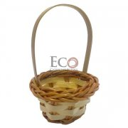 Rai Small Woven Basket - 2.7 - 300/CS