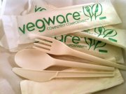 Compostable Meal Kits with Napkin, 250 per case