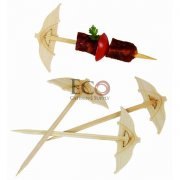 Chiba Bamboo Umbrella Picks - 3.5 - 2000/CS
