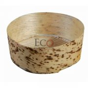 Round Bamboo Leaf Basket - 2.8in - 500/CS