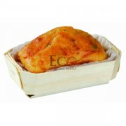 Petit Coeur Baking Mold Mc5 -Top:4.5x2.4 B:3.3x1.6 H:1.3 350/ca