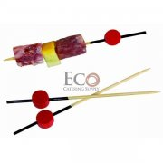 Atami Bamboo Picks Black End With Red Bead - 3.5 - 2000/CS