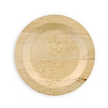 Disposable Bamboo Plates 9 inch Round 96/CS