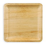 Disposable Bamboo Plates 10 inch Square 96/CS